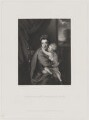 'Caroline Curzon (née Colyear), Lady Scarsdale with her son the Honourable John Curzon' (John Curzon; Caroline Curzon (née Colyear), Lady Scarsdale), by Frederick Bromley, published by  Henry Graves & Co, after  Sir Joshua Reynolds - NPG D40564