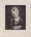 Catherine Schindlerin, by William Humphrys, printed by  McQueen (Macqueen), published by  Joseph Hogarth, after  Sir Joshua Reynolds - NPG D40573