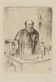 Peter Guthrie Tait, by William Brassey Hole - NPG D40536