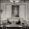 Celeste Lelia Beatrix (née Shoucair), Lady Roberts; Sir Frank Kenyon Roberts, by Ida Kar - NPG x134752
