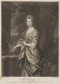 Mrs Scroop (née Pitt), by John Faber Jr, printed for and sold by  Robert Sayer, printed for and sold by  John King, after  Sir Godfrey Kneller, Bt - NPG D40594