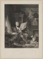 Sir Walter Scott, 1st Bt, by John Burnet, published by  Hodgson, Boys & Graves, sold by  Sir Francis Graham Moon, 1st Bt, after  Sir William Allan - NPG D40596