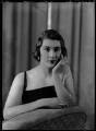 Lady Ann Florence Verney James (née Cole), by Bassano Ltd - NPG x155021