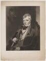 Sir Walter Scott, 1st Bt, by George Henry Phillips, published by  William Tegg, after  Charles Robert Leslie - NPG D40603