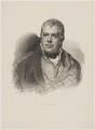 Sir Walter Scott, 1st Bt, by J. Cardon, published by  Gjöthström & Magnusson, after  Sir Henry Raeburn - NPG D40610