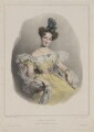 Miss Sydney, by Meuret, published by  Paul and Dominic Colnaghi & Co, after  Alfred Edward Chalon - NPG D40880
