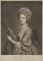 Harriet Mackenzie (née Powell), Countess of Seaforth, by Richard Houston, published by  Robert Sayer, after  Katharine Read - NPG D40622
