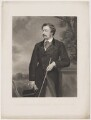 William Philip Molyneux, 4th Earl of Sefton, by George Sidwell Sanders, published by  Henry Graves & Co, after  Sir Francis Grant - NPG D40632
