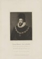 Thomas Howard, 1st Earl of Suffolk, by Thomas Blood, published by  Lackington, Allen & Co, published by  Longman, Hurst, Rees, Orme & Brown, after  John Jackson, after  Unknown artist - NPG D40898