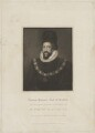 Thomas Howard, 1st Earl of Suffolk, by Thomas Blood, published by  Lackington, Allen & Co, published by  Longman, Hurst, Rees, Orme & Brown, after  John Jackson, after  Unknown artist - NPG D40899