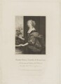 Dorothy Spencer (née Sidney), Countess of Sunderland, by William Thomas Fry, published by  Lackington, Allen & Co, and published by  Longman, Hurst, Rees, Orme & Brown, after  Robert William Satchwell, after  Sir Anthony van Dyck - NPG D40910