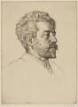 William Sharp, by William Strang, printed by  David Strang - NPG D40673