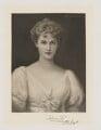 Millicent Fanny Sutherland-Leveson-Gower (née St Clair-Erskine), Duchess of Sutherland, by Frederick John Jenkins, after  Ellis William Roberts - NPG D40933