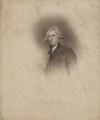 Richard Brinsley Sheridan, by Edward Scriven, published by  T. Cadell & W. Davies, after  John Wright, after  Sir Joshua Reynolds - NPG D40699
