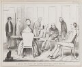 A Small Tea Party of Superannuated Politicians, by John ('HB') Doyle, printed by  Alfred Ducôte, published by  Thomas McLean - NPG D40952