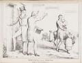 Newcastle versus Newark (Henry Pelham Pelham-Clinton, 4th Duke of Newcastle-under-Lyne; Michael Thomas Sadler), by John ('HB') Doyle, published by  Thomas McLean - NPG D40963