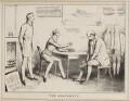 The Abatement (Arthur Wellesley, 1st Duke of Wellington; Henry Goulburn; John Bull; Joseph Planta; George Robert Dawson), by John ('HB') Doyle, published by  Thomas McLean - NPG D40987