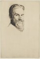 George Bernard Shaw, by William Strang, printed by  David Strang - NPG D40726
