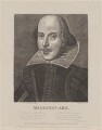 William Shakespeare, by and published by Day & Son, after  Martin Droeshout - NPG D40736