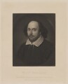 William Shakespeare, by Samuel Cousins, after a painting attributed to  John Taylor - NPG D40739