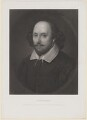 William Shakespeare, by Richard Austin Artlett, after a painting attributed to  John Taylor - NPG D40740