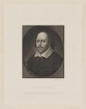William Shakespeare, by Robert Cooper, after a painting attributed to  John Taylor - NPG D40742