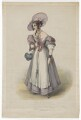 Harriett Deborah Lacy (née Taylor) as Felicia in 'The Housekeeper', by James William Giles, printed by  Charles Joseph Hullmandel, published by  Joseph Dickinson, after  Mrs H. Browne - NPG D41842