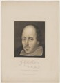 William Shakespeare, published by W.N. Wright, after a painting attributed to  Richard Burbage (Burbadge) - NPG D41641