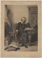 William Shakespeare, by James Faed the Elder, published by  Henry Graves & Co, after  John Faed - NPG D41647