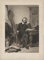 William Shakespeare, by James Faed the Elder, published by  Henry Graves & Co, after  John Faed - NPG D41648
