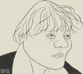 Iris Murdoch, by Nicolas Clerihew Bentley - NPG 6912