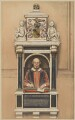 William Shakespeare, after Gerard Johnson - NPG D41660