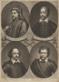 'Poets and Philosophers of England', by John Simon - NPG D41665
