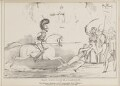 San Leopoldo Matamoros or The Princess Charlotte's Own, charging the Holy Alliance, by John ('HB') Doyle, published by  Thomas McLean - NPG D41002