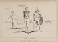 Legitimacy in Commotion or All Wrong with Divine Right, by John ('HB') Doyle, published by  Thomas McLean - NPG D41015