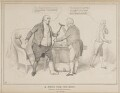 A Cure for the Gout (Henry Richard Fox (later Vassall), 3rd Baron Holland), by John ('HB') Doyle, printed by  Charles Etienne Pierre Motte, published by  Thomas McLean - NPG D41026