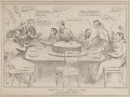 Drawing for the Twelfth Cake.  A Hint to Cabinet Makers, by John ('HB') Doyle, printed by  Charles Etienne Pierre Motte, published by  Thomas McLean - NPG D41035