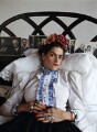 Tracey Emin as Frida Kahlo, by Mary McCartney - NPG x134339