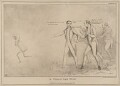 'A Will O'The Wisp.', by John ('HB') Doyle, printed by  Charles Etienne Pierre Motte, published by  Thomas McLean - NPG D41085