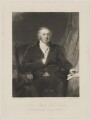 John Somers Cocks, 1st Earl Somers, by William Giller, after  Frederick Richard Say - NPG D41810
