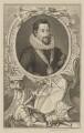 Robert Carr, Earl of Somerset, by Jacobus Houbraken, published by  John & Paul Knapton - NPG D41812