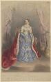 Jane Georgiana Seymour (née Sheridan), Duchess of Somerset ('Authentic Costume of Lady Seymour, Queen of Beauty'), by Joseph Bouvier - NPG D41829