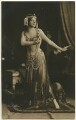 Maud Allan as Salome in 'The Vision of Salome', by Gerlach, published by  G.G. & Co - NPG Ax160370