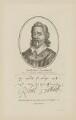 Sir Robert Southwell, published by John Thane, after  Hendrik Cornelisz. Vroom - NPG D41987