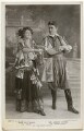 Lily Elsie (Mrs Bullough) as Sonia and Joseph Coyne as Prince Danilo in 'The Merry Widow', by Foulsham & Banfield, published by  Rotary Photographic Co Ltd - NPG Ax160392