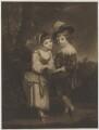 'The Young Fortune-Teller' (Charlotte Nares (née Spencer); Lord Henry John Spencer), after Sir Joshua Reynolds - NPG D42021