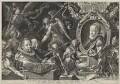 Bartholomeus Spranger; Christina Muller, by Aegidius Sadeler II - NPG D42042