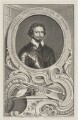Thomas Wentworth, 1st Earl of Strafford, by Jacobus Houbraken, published by  John & Paul Knapton, after  Sir Anthony van Dyck - NPG D42070
