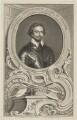 Thomas Wentworth, 1st Earl of Strafford, by Jacobus Houbraken, published by  John & Paul Knapton, after  Sir Anthony van Dyck - NPG D42071