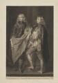 Lord John Stuart; Lord Bernard Stuart, by James Macardell, after  Sir Anthony van Dyck - NPG D42096